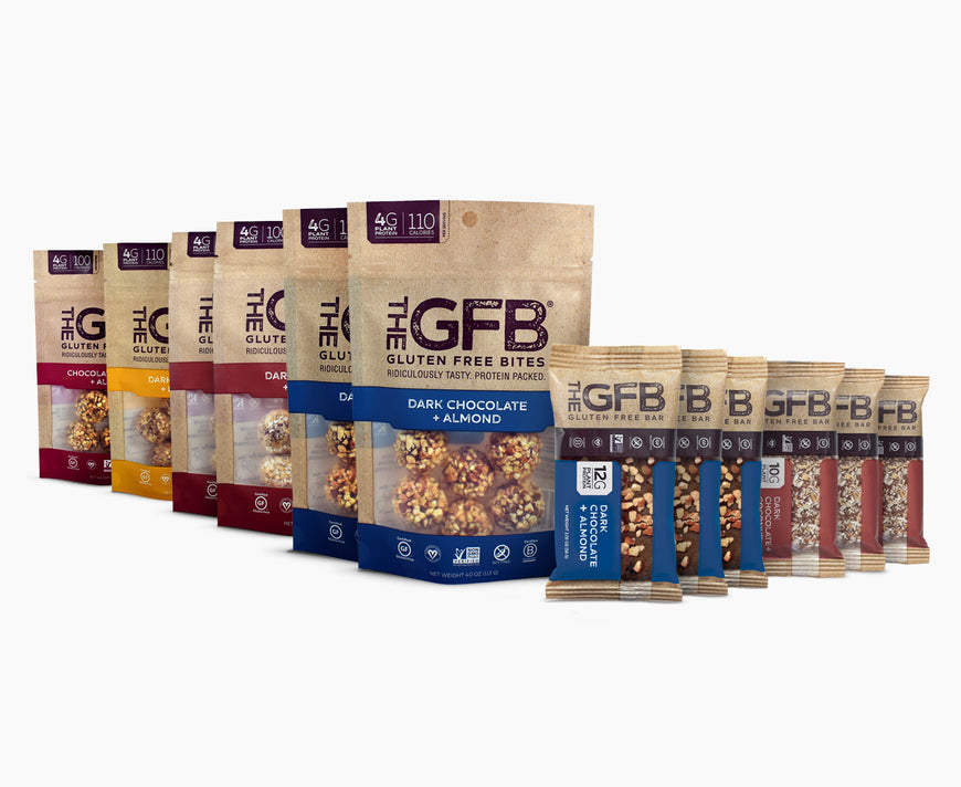 GFB Sampler Pack: Peanut Free - The GFB - The Gluten Free Bar