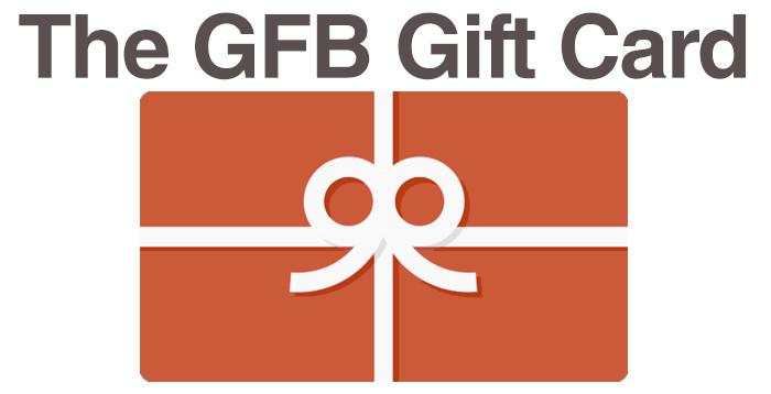 The GFB Gift Card - The GFB - The Gluten Free Bar