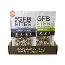 2 GRAIN FREE Bites Bags Sample Pack - The GFB - The Gluten Free Bar