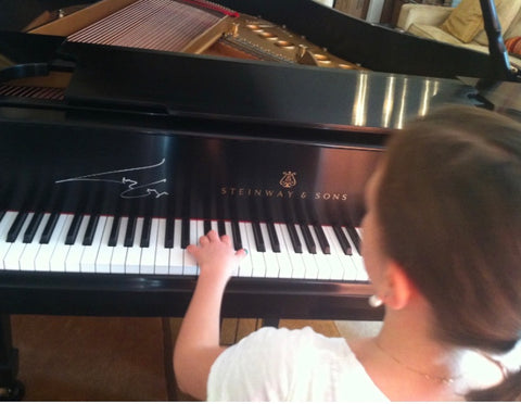 Lady Gaga Signed Steinway Piano