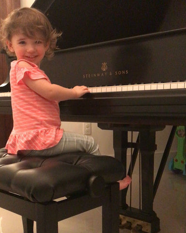 Jodi Adams Daughter on Steinway Piano