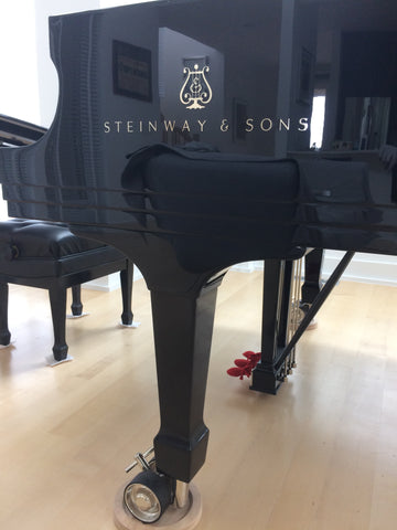Steinway and Sons Logo on a Steinway Model D for sale at Park Avenue Pianos
