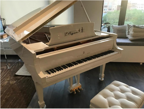 John Lennon Limited Edition Steinway Model A Piano