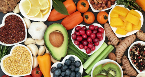 healthy foods, anti-oxidant rich foods, healthy fat foods