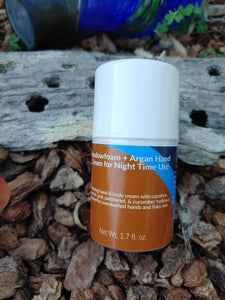 Meadowfoam + Argan Hand & Body Night Cream