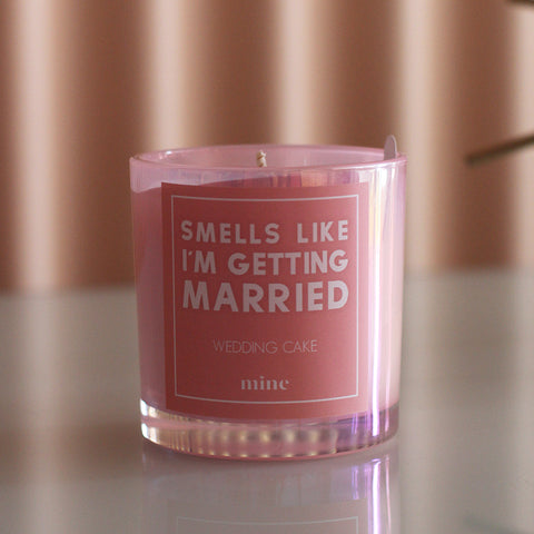 The Mine Company - Smells Like I'm Getting Married Wedding Cake Candle - Blog Post - How To Care For Your Candles