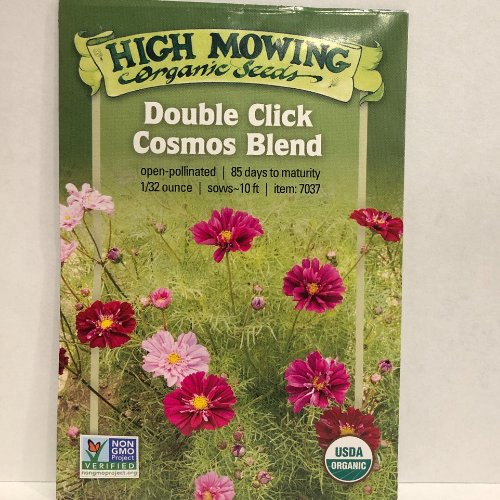 Organic Double Click Cosmos Blend Flower