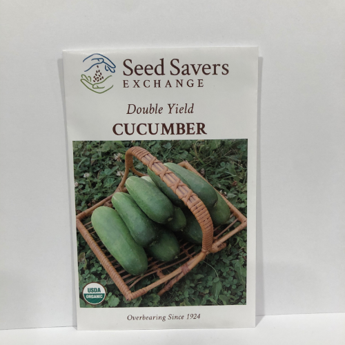 Organic Double Yield Cucumber, 1924 Heirloom