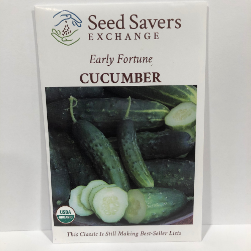 Organic Early Fortune Cucumber, 1910 Heirloom