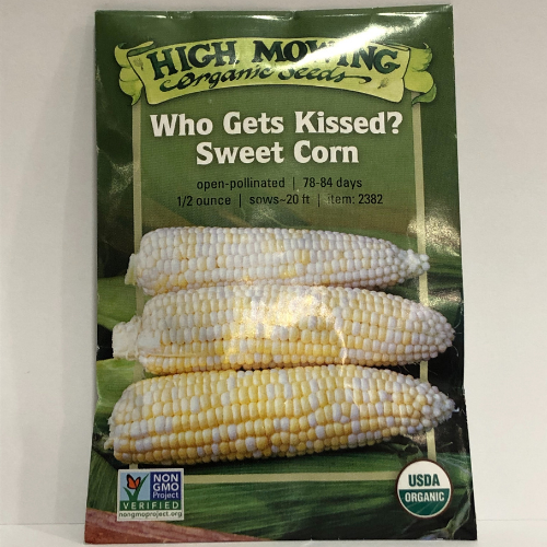 Organic Who Gets Kissed Sweet Corn