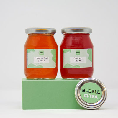 Bubble Tea Syrup Jars (Twin Pack)