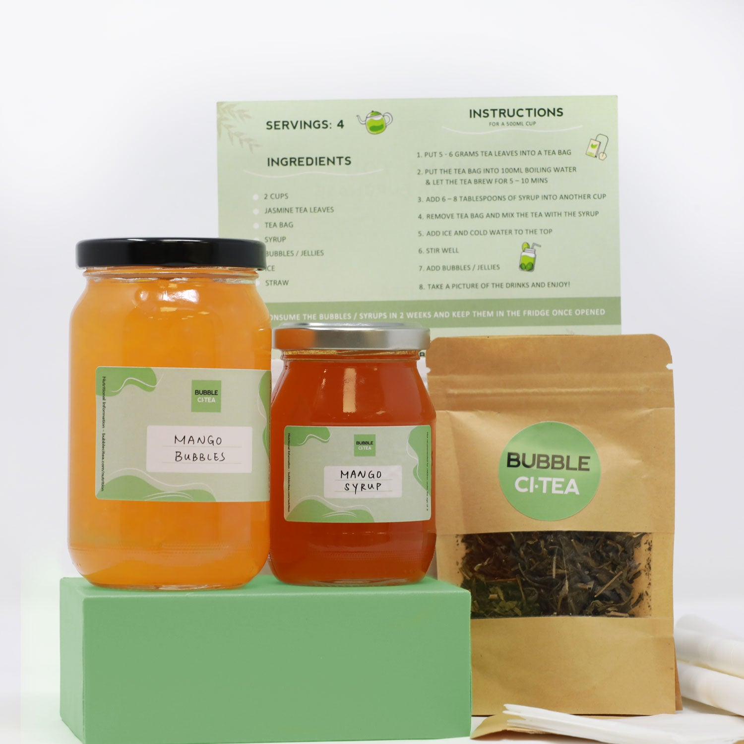 Fruit Tea Kit (More Bubbles)