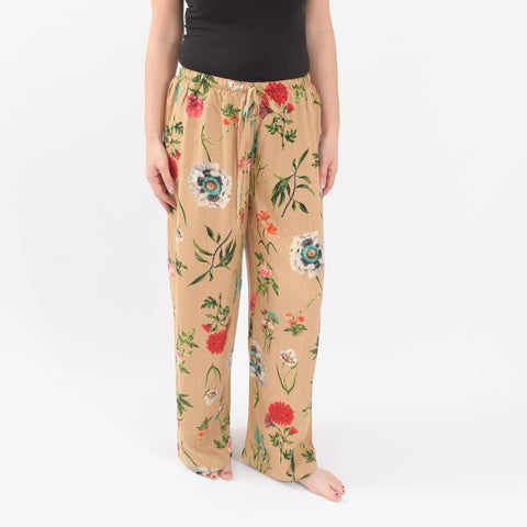 Beige Bloom Floral Pyjamas