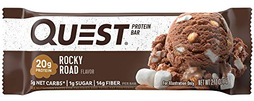 Quest Nutrition Rocky Road Protein Bar