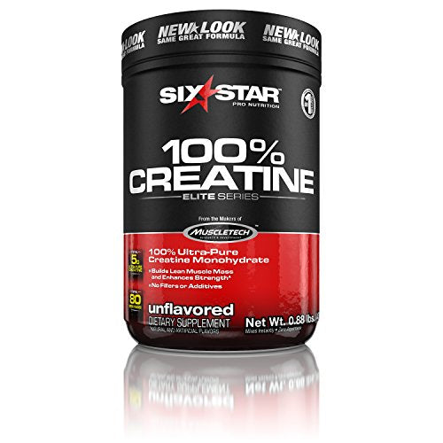 Six Star Elite Series 100% Creatine