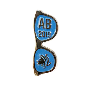 Sticker & Pin Set - Sunglasses Team Alberta