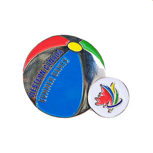 Sticker & Pin Set - Beachball