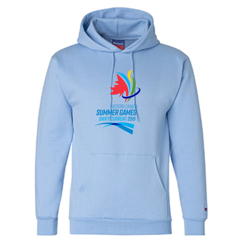 Unisex Light Blue Champion Hoodie