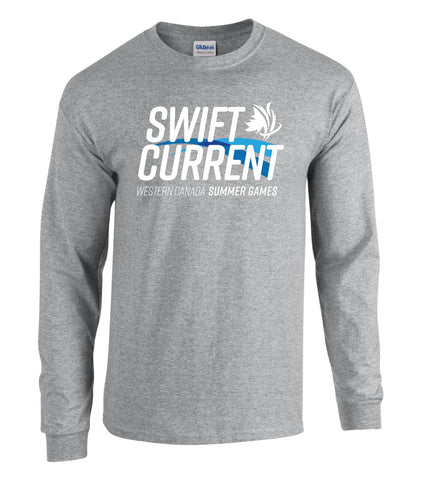 Athletic Grey Unisex Long Sleeve
