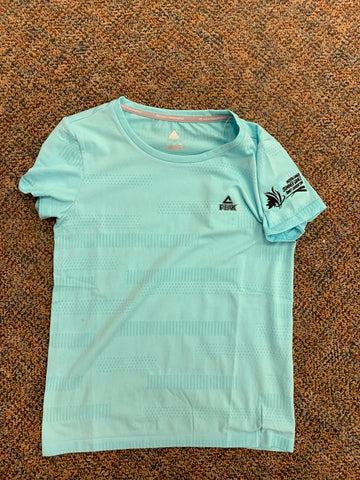 Ladies Light Blue Peak Performance Tee
