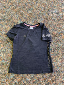 Ladies Black Peak Running Tee