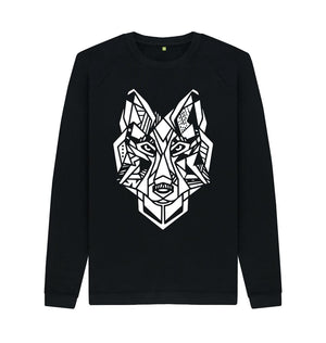 Black The Wolf - Crew Neck