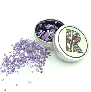 Lilac EcoGlitter - Biodegradable Cosmetic Glitter