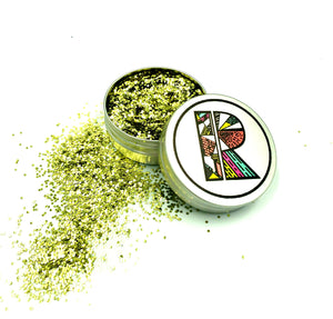 Gold EcoGlitter - Biodegradable Cosmetic Glitter