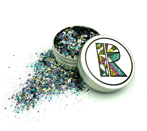 Intergalactic EcoGlitter Mix - Biodegradable Cosmetic Glitter