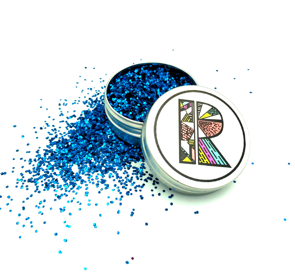 Ocean Blue EcoGlitter - Biodegradable Cosmetic Glitter