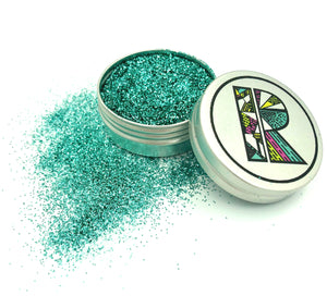 Turquoise EcoGlitter - Biodegradable Cosmetic Glitter