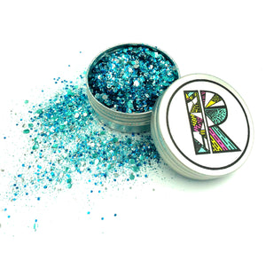 Ocean Wave EcoGlitter Mix - Biodegradable Cosmetic Glitter