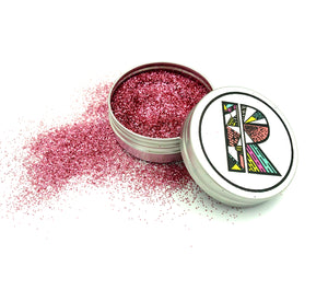 Pink EcoGlitter - Biodegradable Cosmetic Glitter