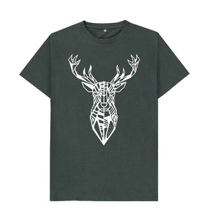 Dark Grey The Stag