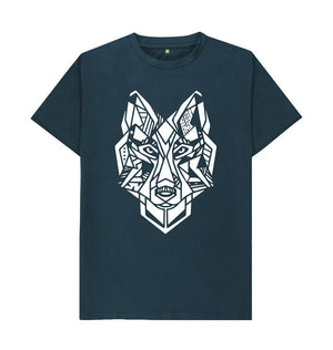 Denim Blue The Wolf