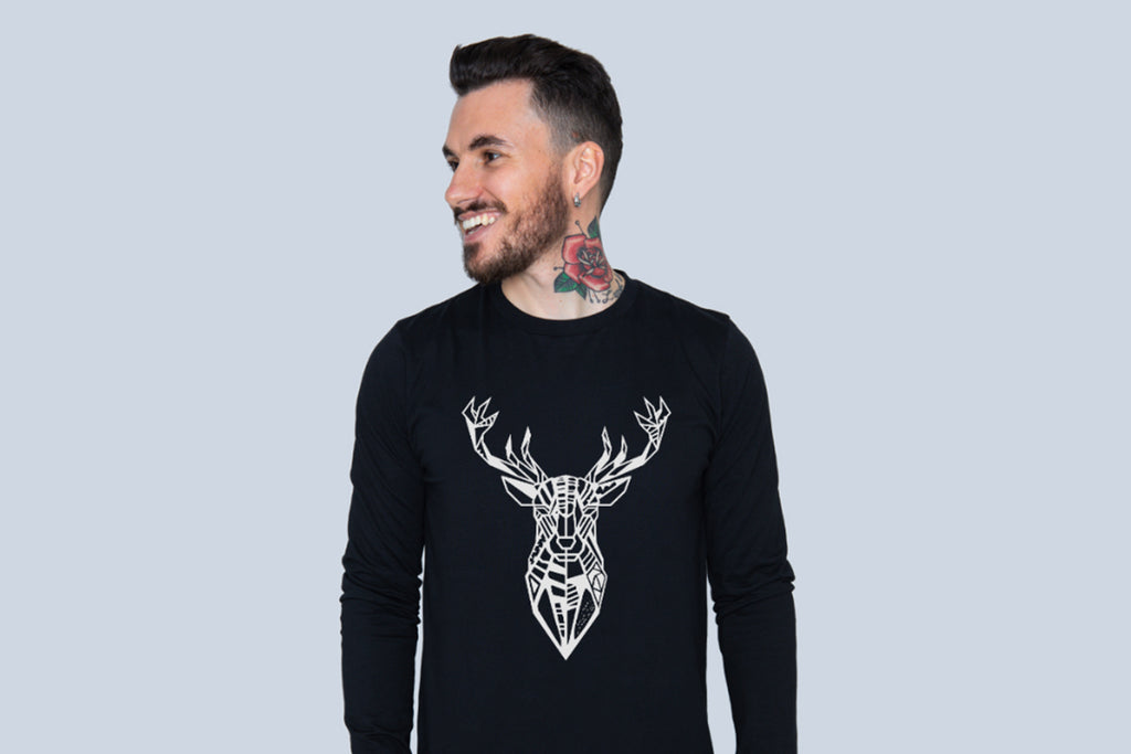 The Stag - Long Sleeve Tee
