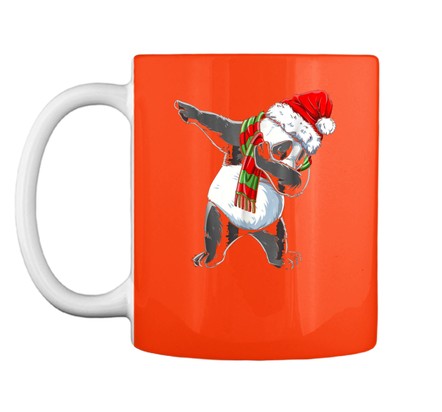 Dabbing Panda Santa Christmas Kids Boys Girls Gifts Mug - Jimax
