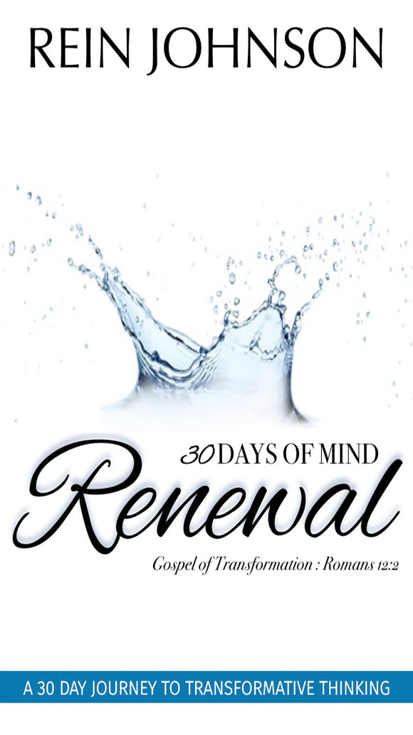30 Days of Mind Renewal: Gospel of Transformation Romans 12:2 (Physical Book)