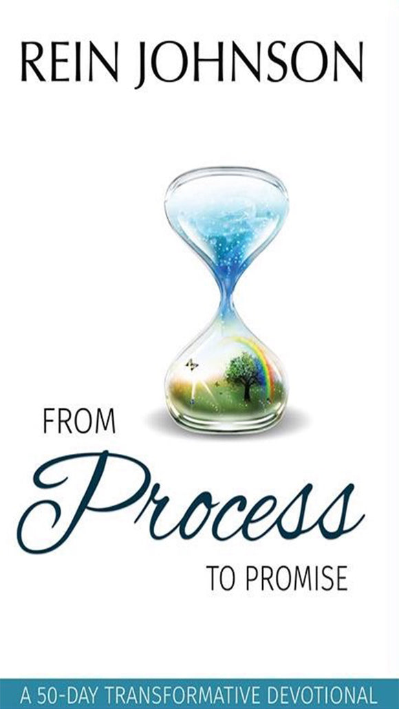 From Process to Promise: A 50 Day Transformative Devotional (Physical Book)