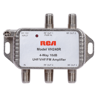 RCA 4-Way Distribution Signal Amplifier