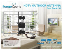 Load image into Gallery viewer, 150 Mile Indoor & Outdoor HDTV Antenna