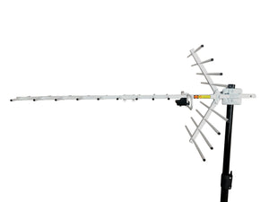 INSANE GAIN XPS-1500 VHF/UHF TV ANTENNA (with VHF Upgrade Kit)