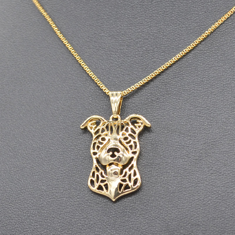 2019 Womens Pitbull Necklace Pendant