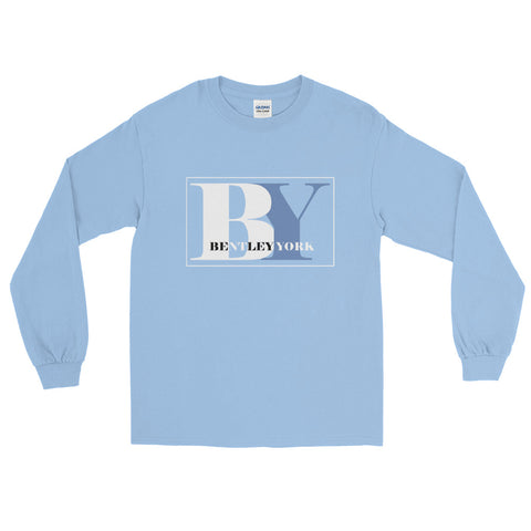 Bentley York BW P Blue Long Sleeve T-Shirt - Bentley York
