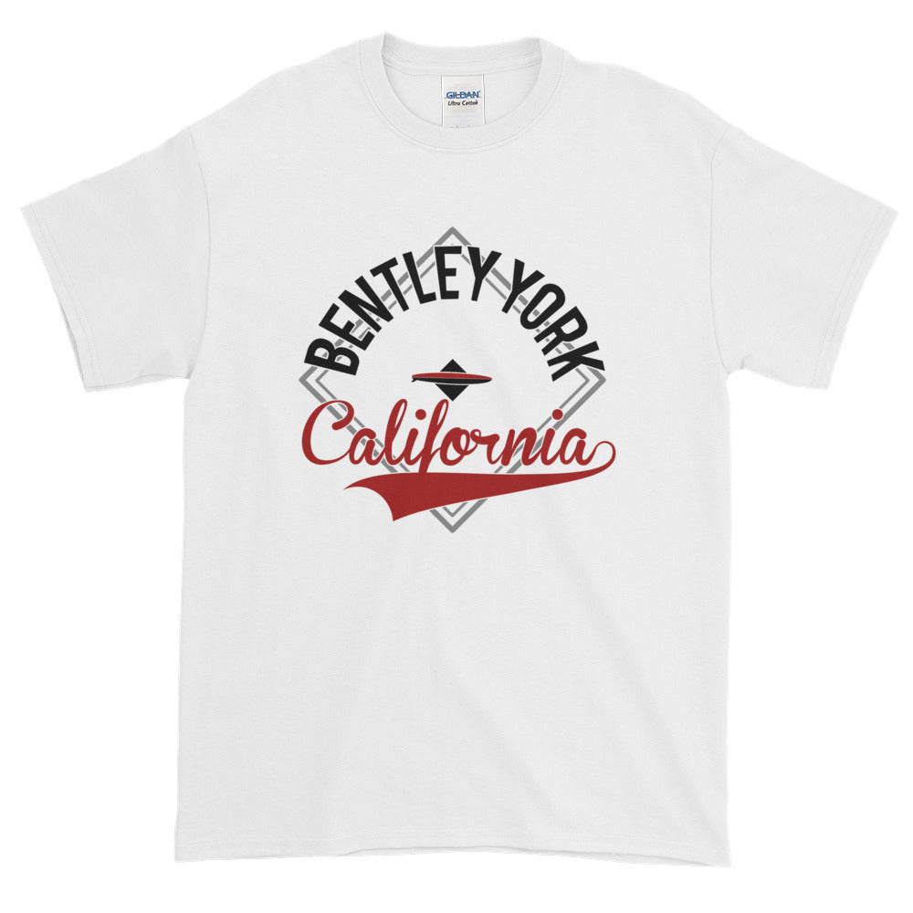 Bentley York Diamond 2 Red Short-Sleeve T-Shirt - Bentley York