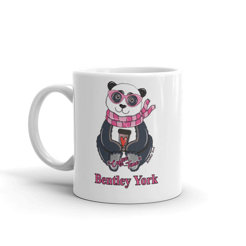 "Bentley York Panda ""Coffee Time"" Mug - Bentley York"