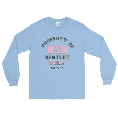 Bentley York Property of Pink Long Sleeve T-Shirt - Bentley York