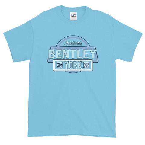 Bentley York Authentic 2 Short-Sleeve Sky Blue T-Shirt - Bentley York