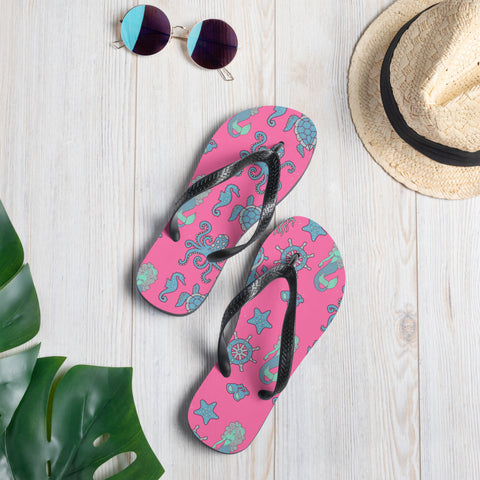 Mermaid Flip-Flops