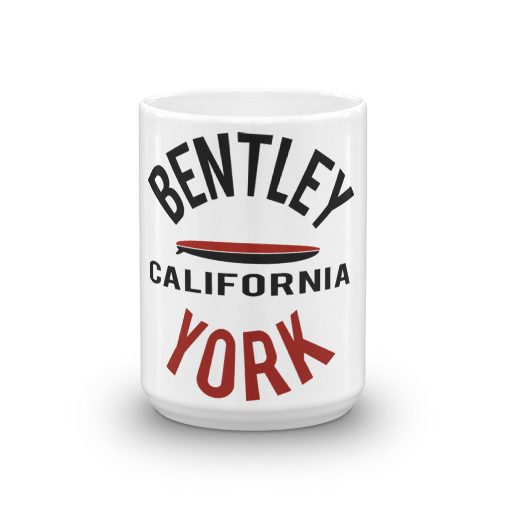 Bentley York Circle 2 Red Mug - Bentley York